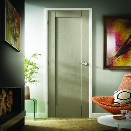 Moulded White Primed Shaker 1 Panel Internal Door 1981mm X 838mm X 35mm