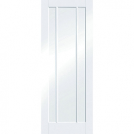Moulded Worcester White Clear Glazed Internal Door 1981mm X 838mm X 35mm