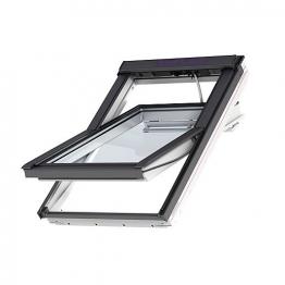Velux Integra Roof Window 1340mm X 1400mm White Painted Ggl Uk08 206021u
