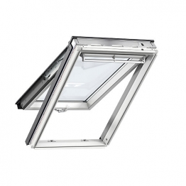 Velux Top Hung Roof Window 550mm X 980mm White Painted Gpl Ck04 2070