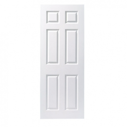 Moulded 6 Panel Smooth Hollow Core Internal Door 1981mm X 686mm X 35mm