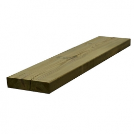 Sawn Timber Regularised Treated C16 47mm X 200mm X 4.8m