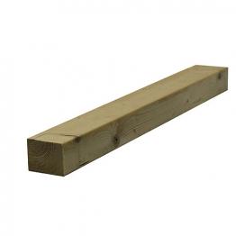 Sawn Timber Regularised C16 75mm X 100mm X 4.8m