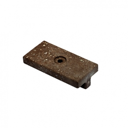Upm Profi T-clips Chestnut Brown 1 Hole Box 100