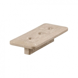 Upm Profi T-clips Chestnut Brown 3 Hole Box 100