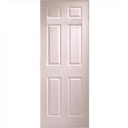 Moulded 6 Panel Grained Hollow Core Internal Door 1981mm X 457mm X 35mm