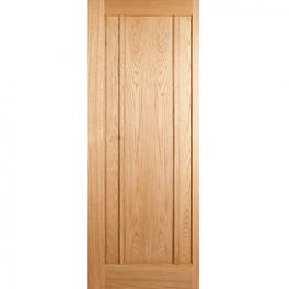 Hardwood Oak Ripon 3 Panel Internal Door 1981mm X 686mm X 35mm