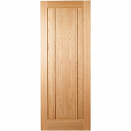 Hardwood Oak Ripon 3 Panel Internal Door 1981mm X 762mm X 35mm