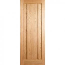 Oak Ripon 3 Panel Fd30 Internal Fire Door 1981mm X 838mm X 44mm