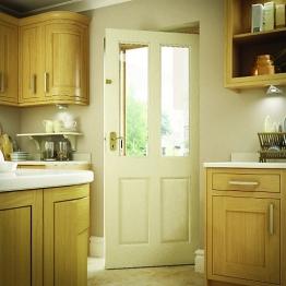 Malton Hardwood Veneer External Door 2032 X 813 X 44mm