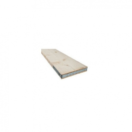End Banded Scaffold Boards Bs2482 38mm X 225mm X 3.0m