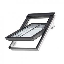 Velux Integra Solar Roof Window 940mm X 1400mm White Painted Ggl Pk08 206630