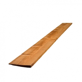 Feather Edge Board Treated Brown 22mm X 150mm X 2.4m