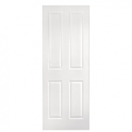Moulded 4 Panel Smooth Hollow Core Internal Door 2040mm X 726mm X 40mm