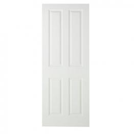 Moulded 4 Panel Smooth Fd30 Internal Fire Door 1981mm X 762mm X 44mm