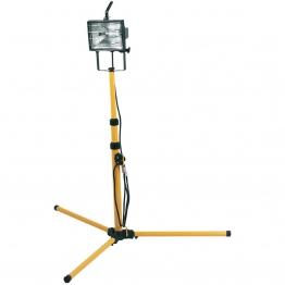 Halogen Worklamp (400w) On Telescopic Stand