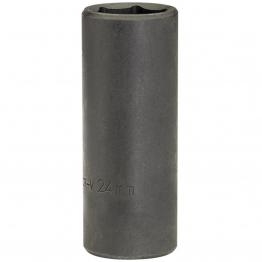 "Expert 24mm 1/2"" Square Drive Deep Impact Socket"