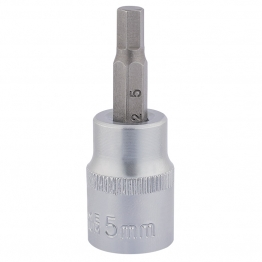 "3/8"" Square Drive Socket With Hexagonal Bit (5mm)"