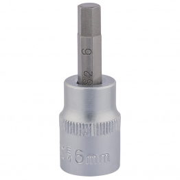 "3/8"" Square Drive Socket With Hexagonal Bit (6mm)"