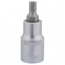 "1/2"" Sq. Dr. Hexagonal Socket Bits (6mm)"