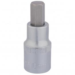 "1/2"" Sq. Dr. Hexagonal Socket Bits (10mm)"