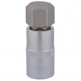 "1/2"" Sq. Dr. Hexagonal Socket Bits (19mm)"