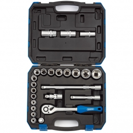 "1/2"" Sq. Dr. Metric Socket Set (24 Piece)"