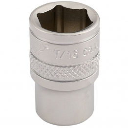 "1/4"" Square Drive Imperial Socket (7/16"")"