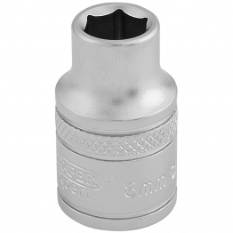 "3/8"" Square Drive 6 Point Metric Socket (8mm)"
