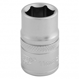 "3/8"" Square Drive 6 Point Metric Socket (11mm)"