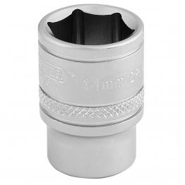 "3/8"" Square Drive 6 Point Metric Socket (14mm)"