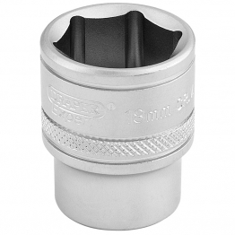 "3/8"" Square Drive 6 Point Metric Socket (18mm)"