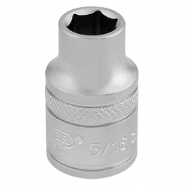 """3/8"""" Square Drive 6 Point Imperial Socket (5/16"""")"""