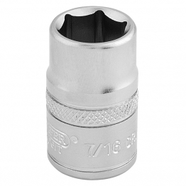 "3/8"" Square Drive 6 Point Imperial Socket (7/16"")"