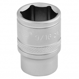 "3/8"" Square Drive 6 Point Imperial Socket (9/16"")"
