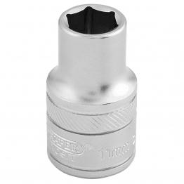 "1/2"" Square Drive 6 Point Metric Socket (11mm)"