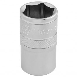 "1/2"" Square Drive 6 Point Metric Socket (16mm)"