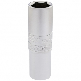 "1/2"" Square Drive 6 Point Metric Deep Socket (17mm)"