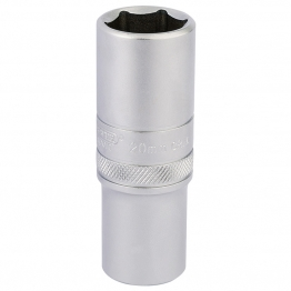 "1/2"" Square Drive 6 Point Metric Deep Socket (20mm)"