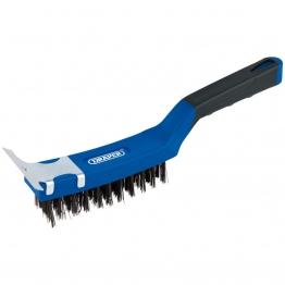 Wire Scratch Brush With Scraper (285mm)