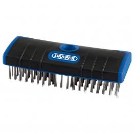 Stainless Steel Bristle Scrub Brush (180mm)