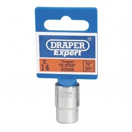 "Expert E14 3/8"" Square Drive Draper Tx-star"
