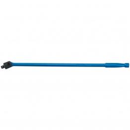"""Blue 1/2"""" Square. Drive. Flexible Handle (640mm)"""