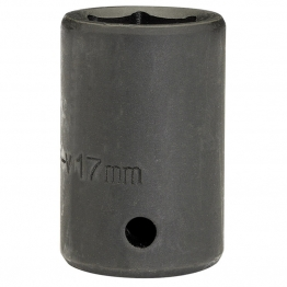 "Expert 17mm 1/2"" Square Drive Impact Socket (sold Loose)"
