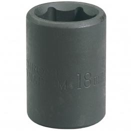 "Expert 21mm 1/2"" Square Drive Impact Socket"