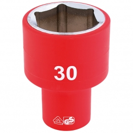 """1/2"""" Sq. Dr. Fully Insulated Vde Socket (30mm)"""