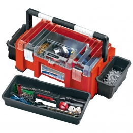 Expert 510mm Tool Box With Side Organisers And Tote Tray