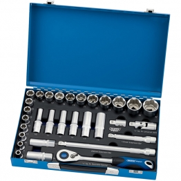 "1/2"" Sq. Dr. Metric Socket Set (31 Piece)"