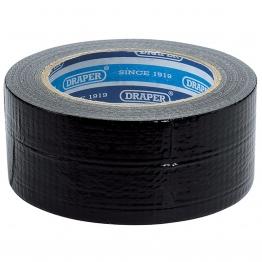33m X 50mm Black Duct Tape Roll