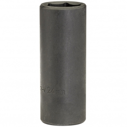 "Expert 24mm 1/2"" Square Drive Deep Impact Socket (sold Loose)"